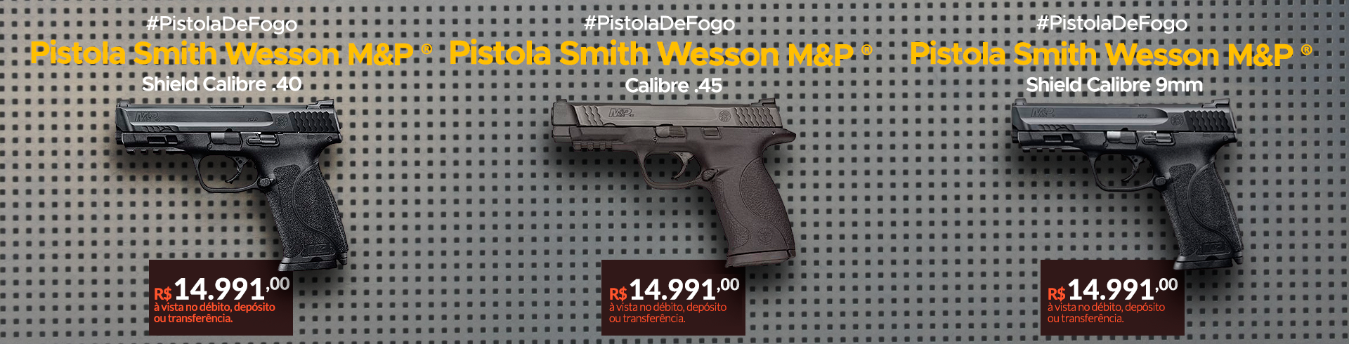 PISTOLA SMITH WESSON