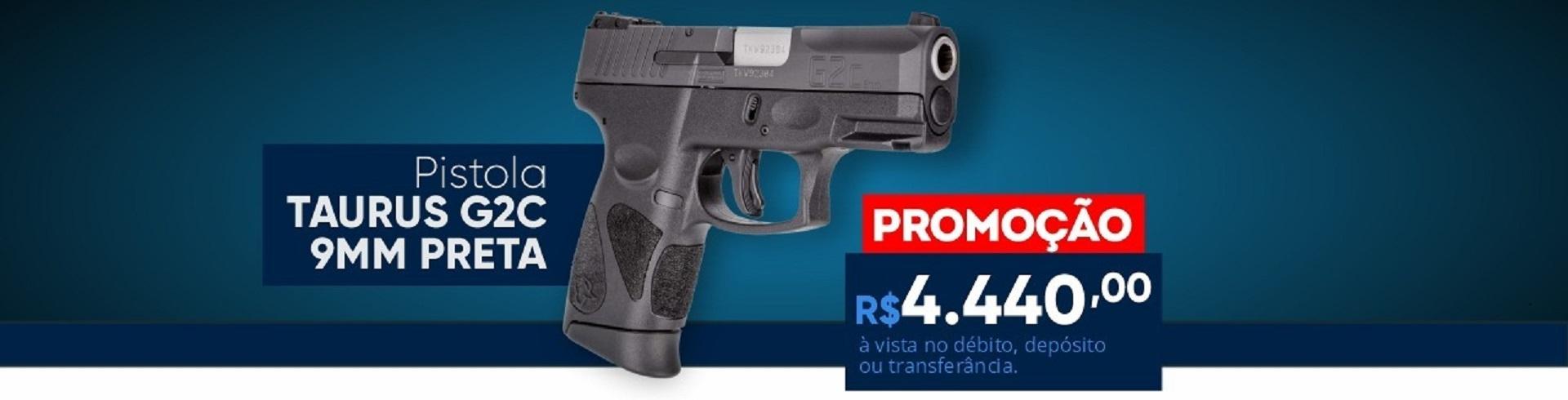 pistola g2c  taurus 9 mm