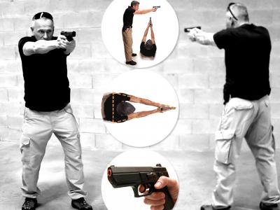 Técnicas de tiro e postura - Arma de Fogo