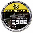 CHUMBINHO RWS MEISTERKUGELN 4.5MM 500 UNID
