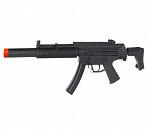 RIFLE AIRSOFT GSG 522 COM SILENCIADOR INTEGRADO 6MM