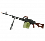 RIFLE AIRSOFT PKM FULL METAL 6MM