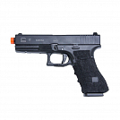 PISTOLA AIRSOFT GREEN GÁS DOUBLE GLOCK G17 GRIP GBB 6.0 MM