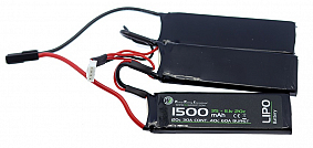 BATERIA WE LIPO 11.1 /1500 /20 TRIPLE G0039