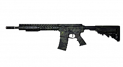 RIFLE APS AEG ASR 115 KEYMODE SPYDER BLACK MULTICAM 6.0MM