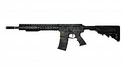 RIFLE APS AEG ASR 115 KEYMODE SPYDER BLACK MULTICAM 6.0MM