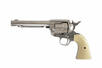 REVÓLVER DE CO2 COLT PEACEMAKER SAA NICKEL 4.5MM