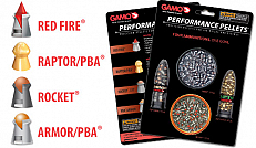 CHUMBINHO GAMO PERFORMANCE PELLETS 4.5MM 500 UNID