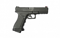 PISTOLA AIRSOFT CO2 APS ACTION COMBAT BLACK FACELIFT ACP601