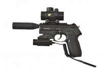 PISTOLA DE CO2 GAMO PT-80 TACTICAL 4.5MM