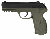 PISTOLA DE CO2 GAMO PT-85 BLOWBACK OLIVE 4,5MM