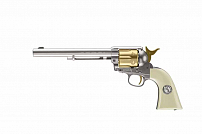 REVÓLVER DE CO2 COLT NICKEL GOLD PEACEMAKER 4.5MM 7,5