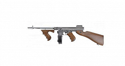 RIFLE AIRSOFT AEG KING ARMS M1928 CHICAGO SLIVER