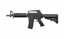 RIFLE AIRSOFT AEG WE M4 CQB BLACK SKU A001