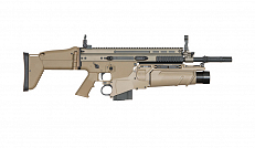 RIFLE AIRSOFT ARES SCAR AR-060+GL-05 6.0MM