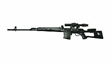 RIFLE AIRSOFT CLASSIC ARMY DRAGUNOV SVD COM SCOPE