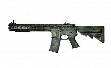 RIFLE APS AEG ASR116 LOW PROFILE ADAPT RAIL BLACK MULTICAM 6.0MM