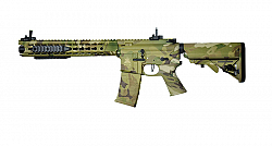 RIFLE APS AEG ASR116 LOW PROFILE ADAPT RAIL MULTICAM 6.0MM