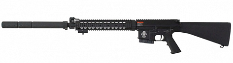 RIFLE G&G AEG GR25 SNIPER BLACK 6.0MM BB