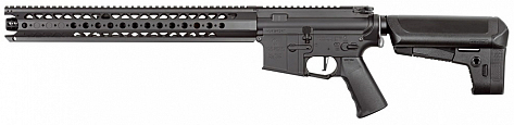 RIFLE KRYTAC AEG WAR SPORT LVOA-C BLACK 6.0MM BB