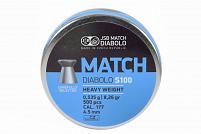 CHUMBINHO JSB MARTCH DIABOLO S100 4.5MM 500 UNID