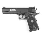 PISTOLA DE CO2 SWISS ARMS P1911 MATCH 4.5MM